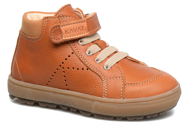 Sneakers Kavat Vasterby EP Brun detaljeret billede af skoene