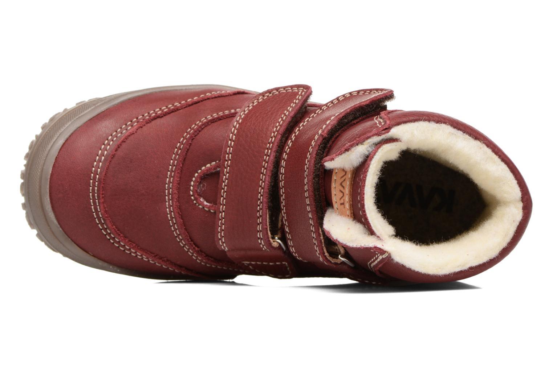 Bottines et boots Kavat Oden EP Rouge vue gauche