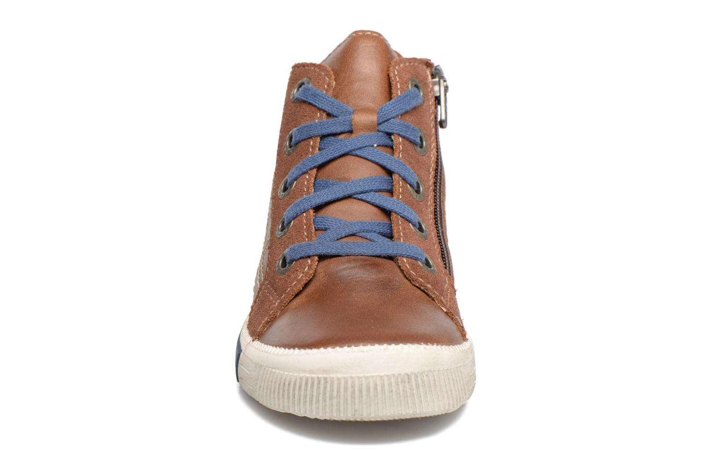 Baskets Noël Mini Rego Marron vue portées chaussures