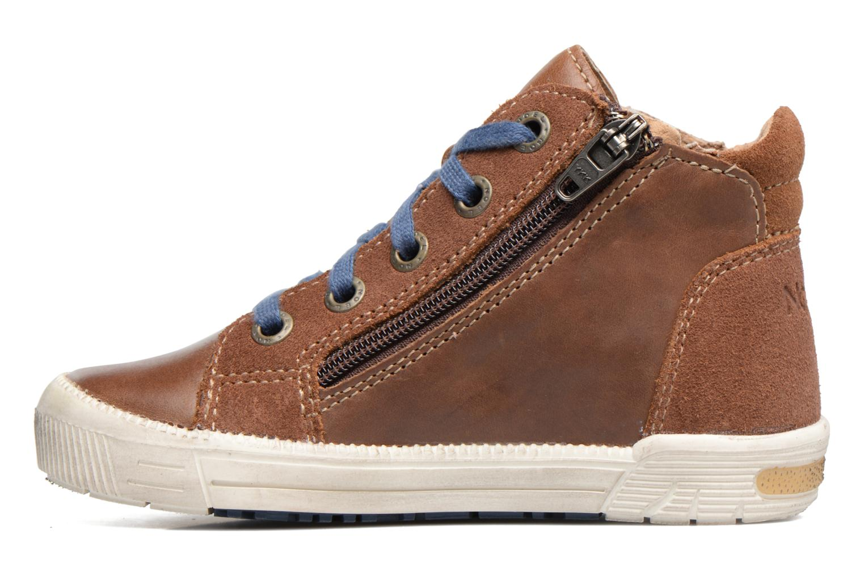 Sneakers Noël Mini Rego Marrone immagine frontale