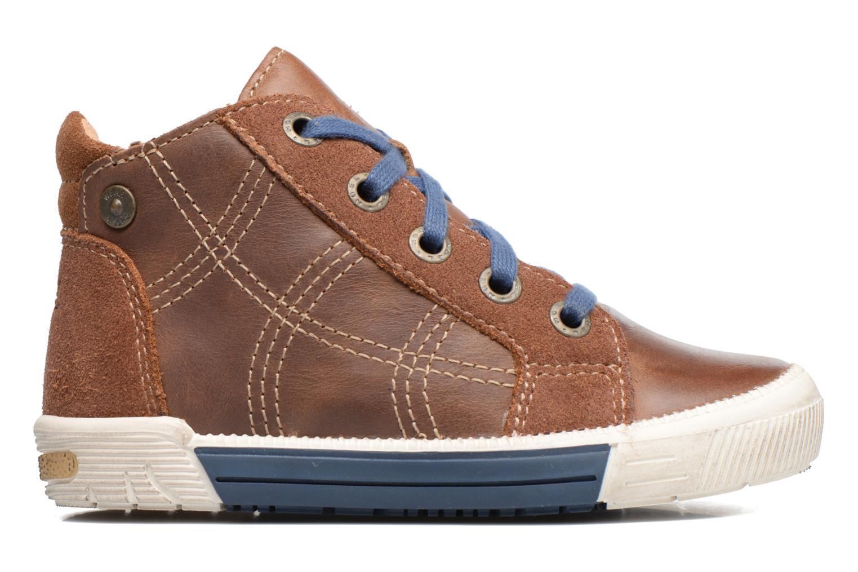 Sneakers Noël Mini Rego Marrone immagine posteriore