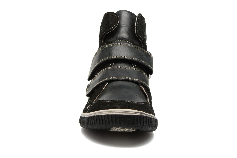 Baskets Noël Zem Noir vue portées chaussures