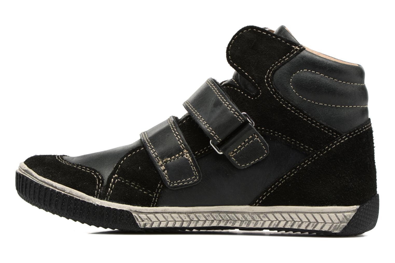 Sneaker Noël Zem schwarz ansicht von vorne