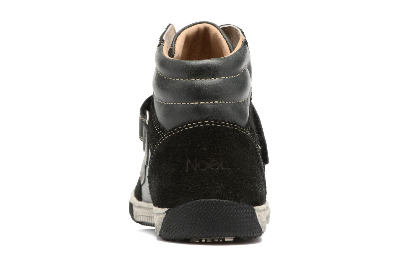 Sneaker Noël Zem schwarz ansicht von rechts