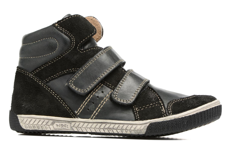 Sneaker Noël Zem schwarz ansicht von hinten