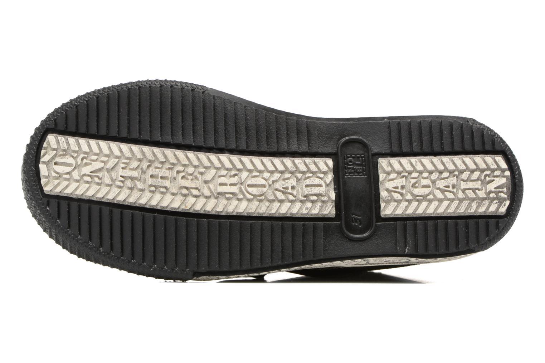 Sneaker Noël Zem schwarz ansicht von oben