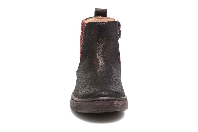 Bottines et boots Mod8 Blabla Bordeaux vue portées chaussures