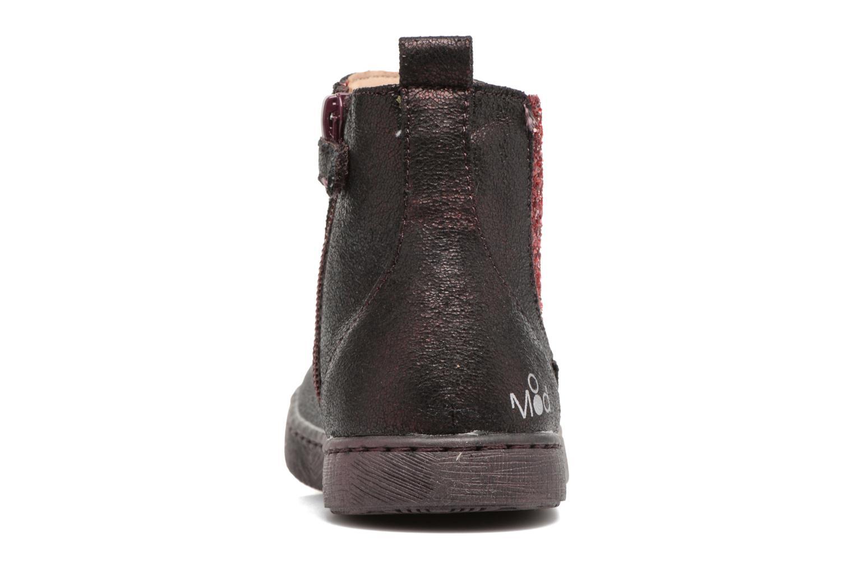 Bottines et boots Mod8 Blabla Bordeaux vue droite
