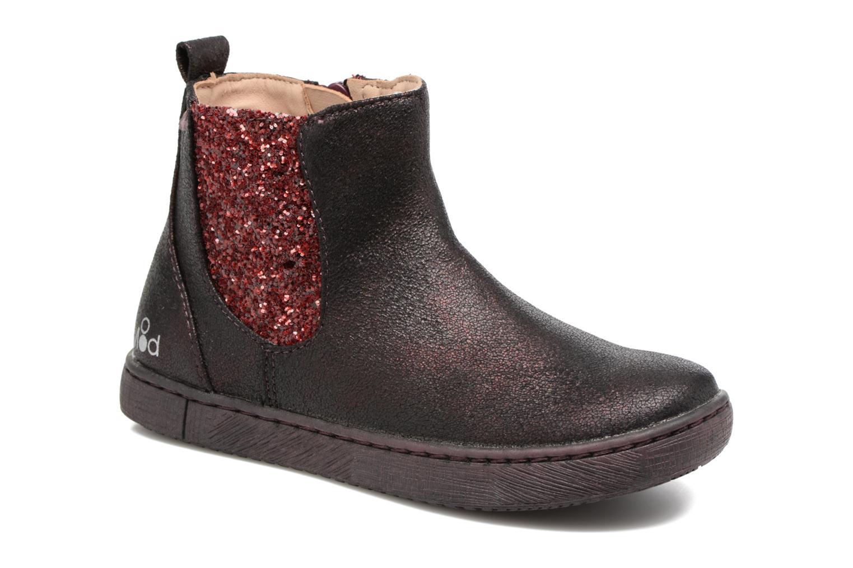 Bottines et boots Mod8 Blabla Bordeaux vue détail/paire