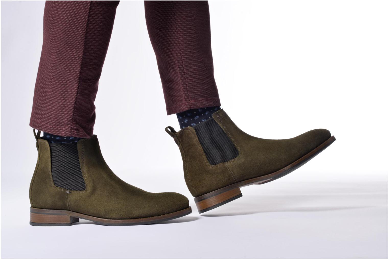 Bottines et boots Mr SARENZA Stasi Bleu vue bas / vue portée sac