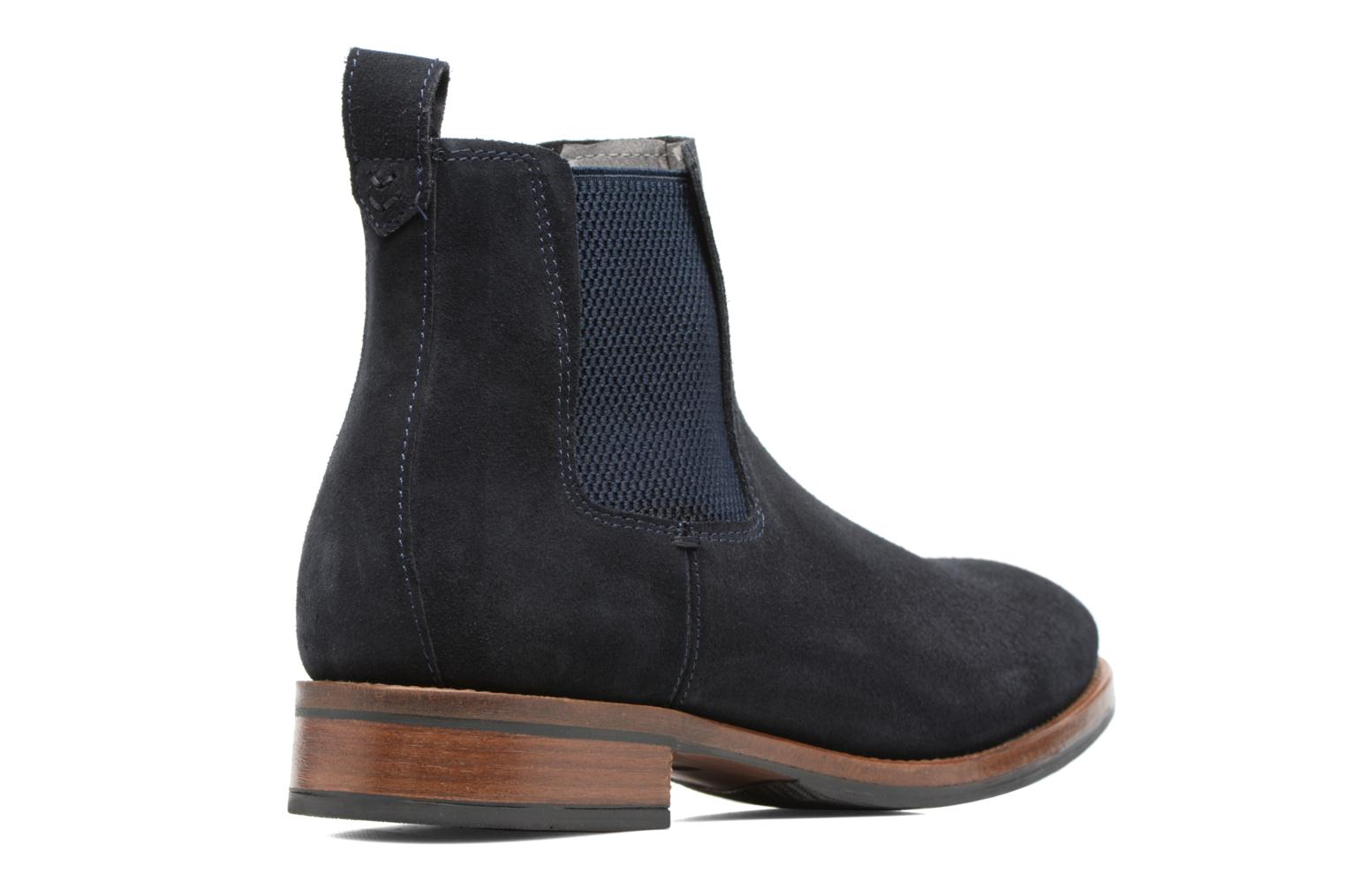 Bottines et boots Mr SARENZA Stasi Bleu vue face