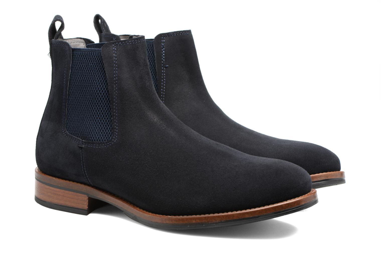 Bottines et boots Mr SARENZA Stasi Bleu vue derrière
