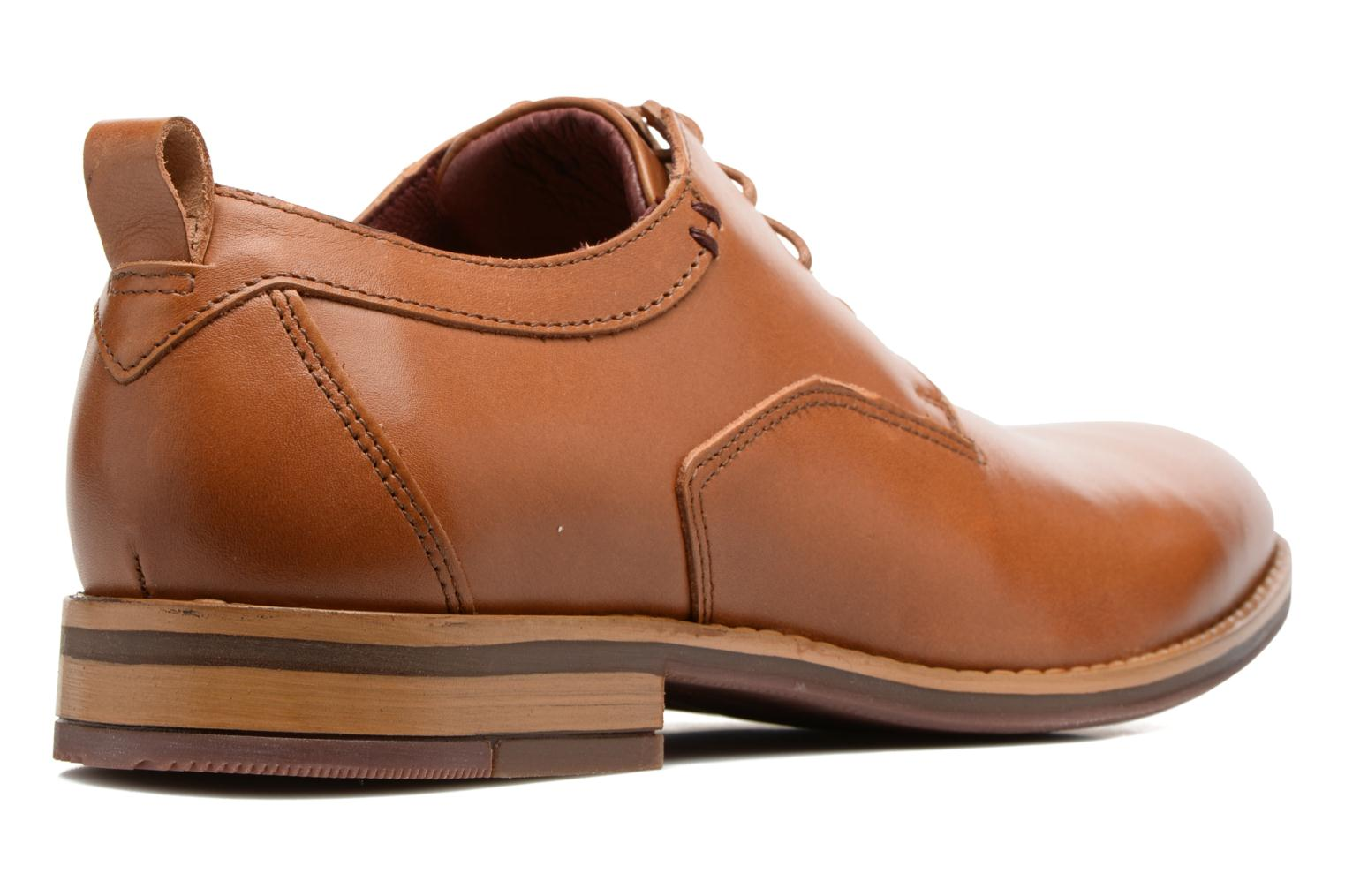 Lace-up shoes Mr SARENZA Scano Brown front view