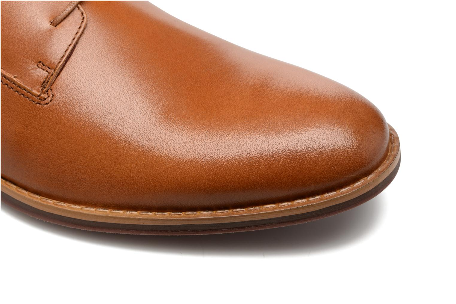 Lace-up shoes Mr SARENZA Scano Brown view from the left