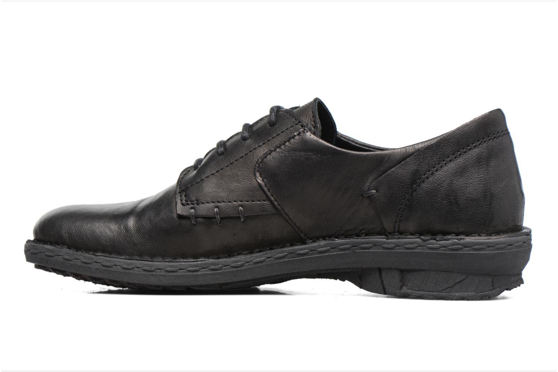 Chaussures à lacets Khrio Brancer Noir vue face