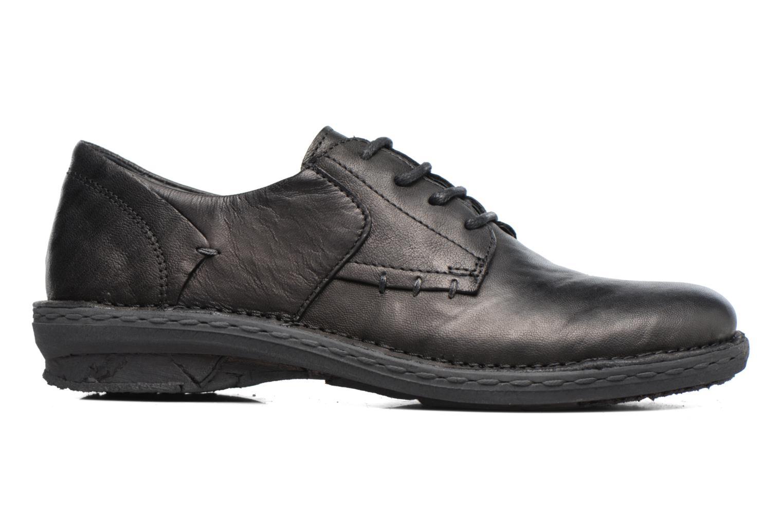 Chaussures à lacets Khrio Brancer Noir vue derrière