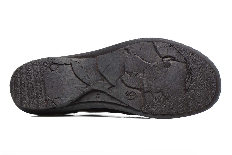 Chaussures à lacets Khrio Brancer Noir vue haut