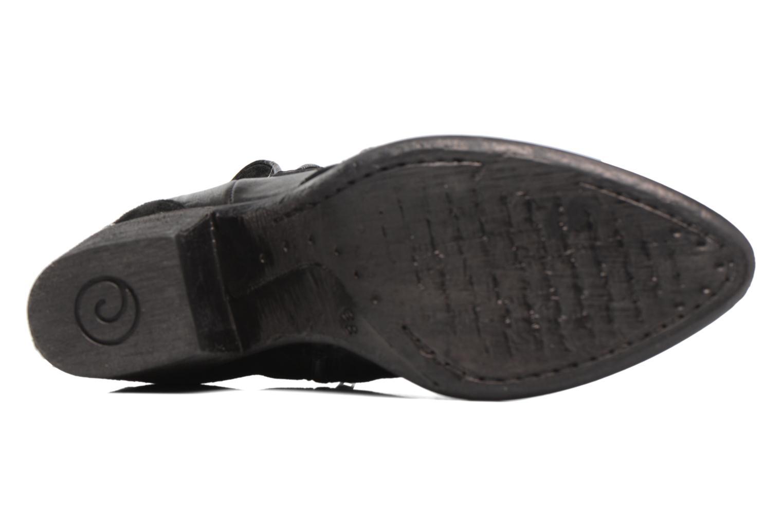 Bottines et boots Khrio Sheltarie Noir vue haut