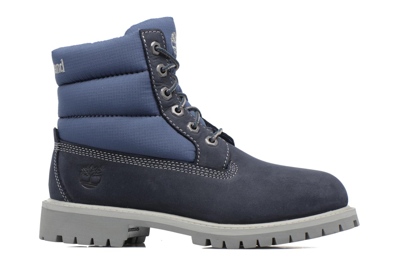 Botines  Timberland 6 In Quilt Boot Navy Azul vistra trasera