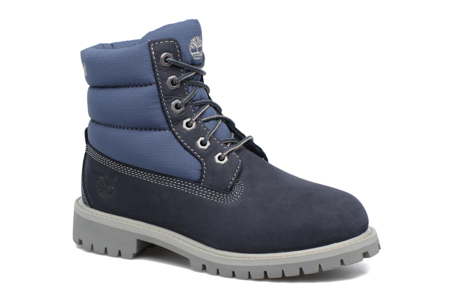 6 In Quilt Boot Navy Blue