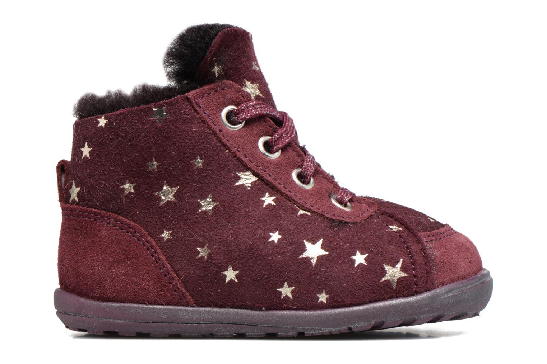 Ankle boots Richter Minki Purple back view