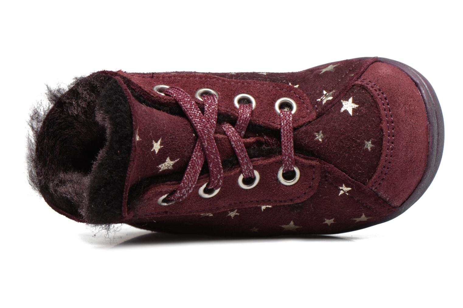 Ankle boots Richter Minki Purple view from the left