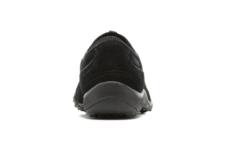 Deportivas Skechers Breathe-Easy - Moneybags Negro vista lateral derecha