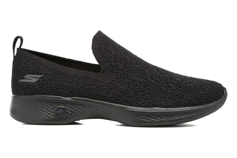 Chaussures de sport Skechers Go walk 4 gifted Noir vue derrière