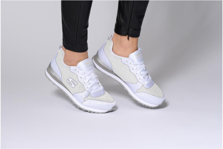 Baskets Skechers OG 85 W Blanc vue bas / vue portée sac