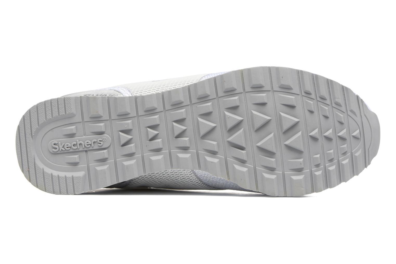 Baskets Skechers OG 85 W Blanc vue haut
