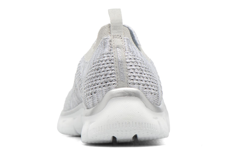 Sneaker Skechers Empire round up grau ansicht von rechts