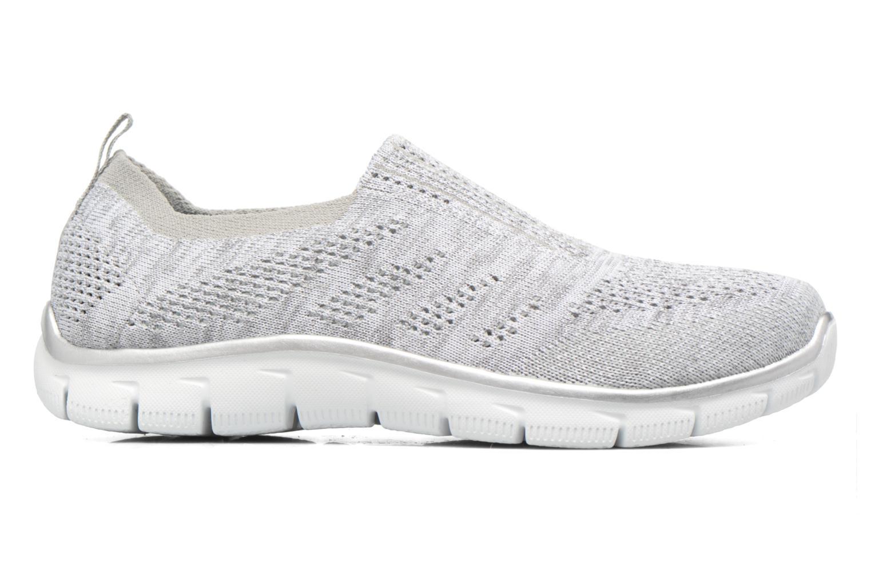 Sneaker Skechers Empire round up grau ansicht von hinten