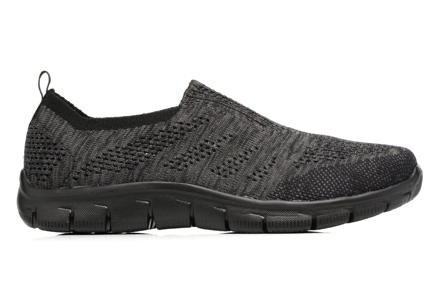Deportivas Skechers Empire inside look Gris vistra trasera