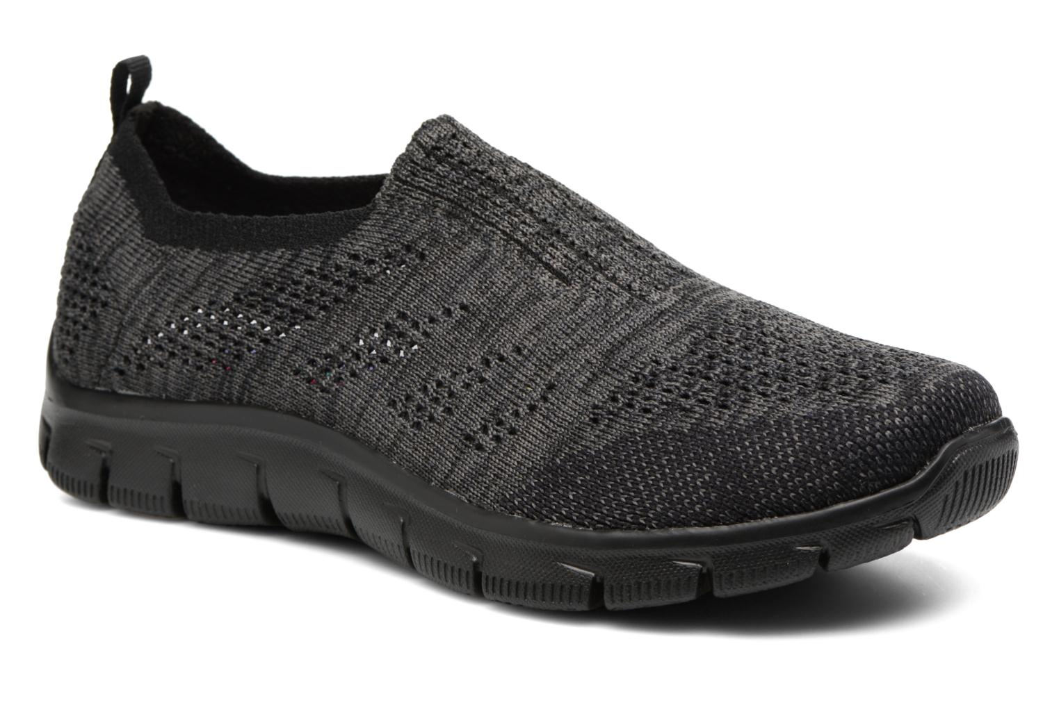 Deportivas Skechers Empire inside look Gris vista de detalle / par