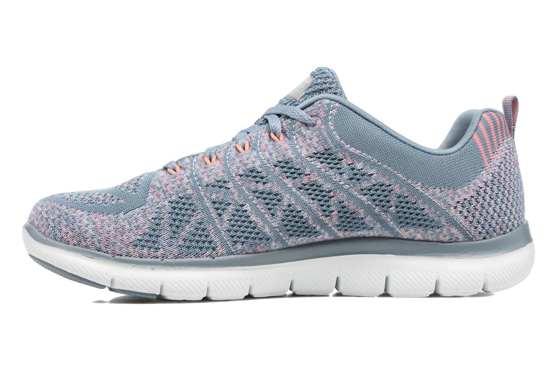 Sport shoes Skechers Flex Appeal 2.0 New Gem Grey front view