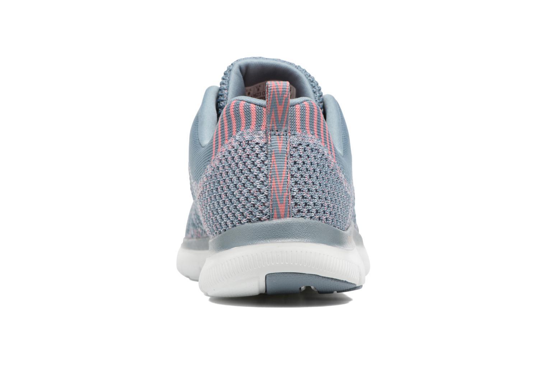 Chaussures de sport Skechers Flex Appeal 2.0 New Gem Gris vue droite