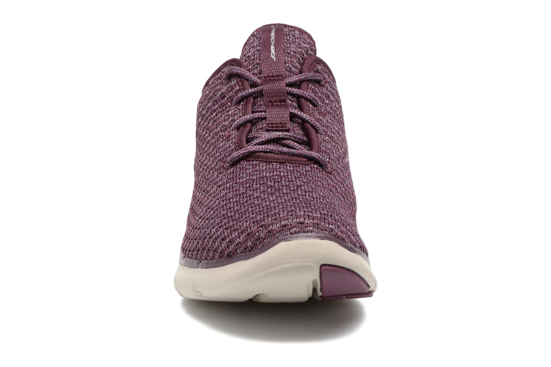 Chaussures de sport Skechers Flex Appeal 2.0 Bold Move Violet vue portées chaussures