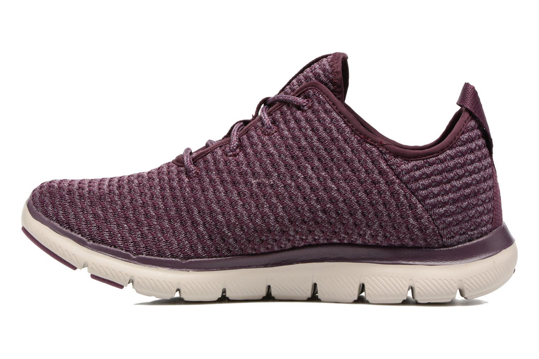 Chaussures de sport Skechers Flex Appeal 2.0 Bold Move Violet vue face