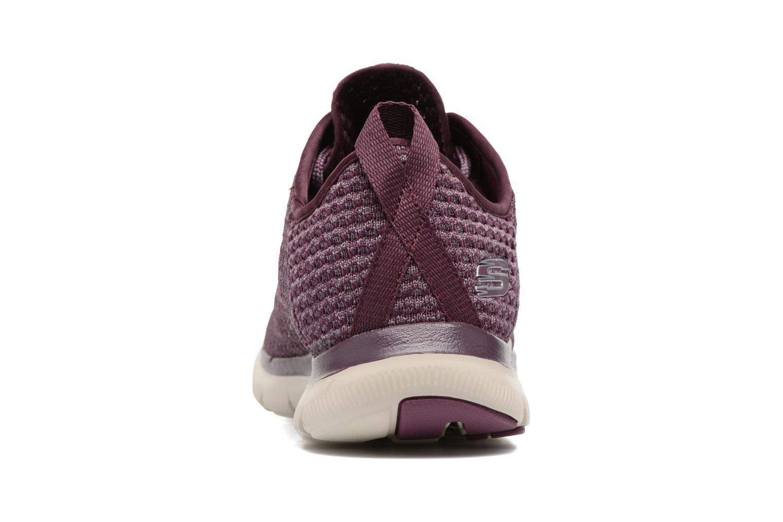 Chaussures de sport Skechers Flex Appeal 2.0 Bold Move Violet vue droite