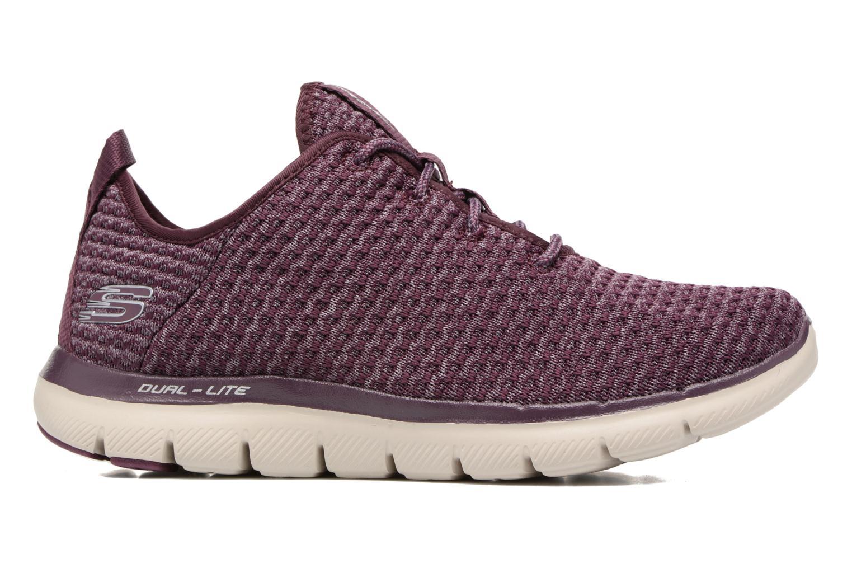 Chaussures de sport Skechers Flex Appeal 2.0 Bold Move Violet vue derrière