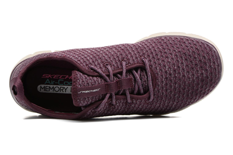 Chaussures de sport Skechers Flex Appeal 2.0 Bold Move Violet vue gauche