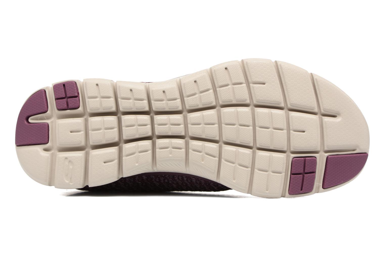 Chaussures de sport Skechers Flex Appeal 2.0 Bold Move Violet vue haut