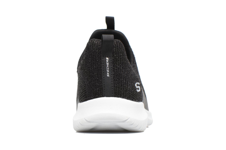 Zapatillas de deporte Skechers Ultra Flex Negro vista lateral derecha