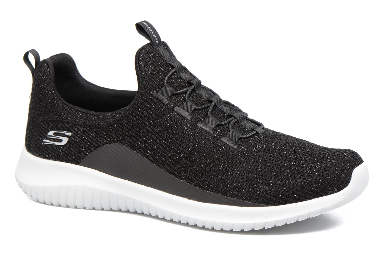 Sportssko Skechers Ultra Flex Sort detaljeret billede af skoene