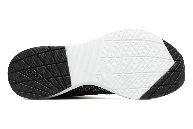 Chaussures de sport Skechers Skech-Air infinity Free fallin Noir vue haut