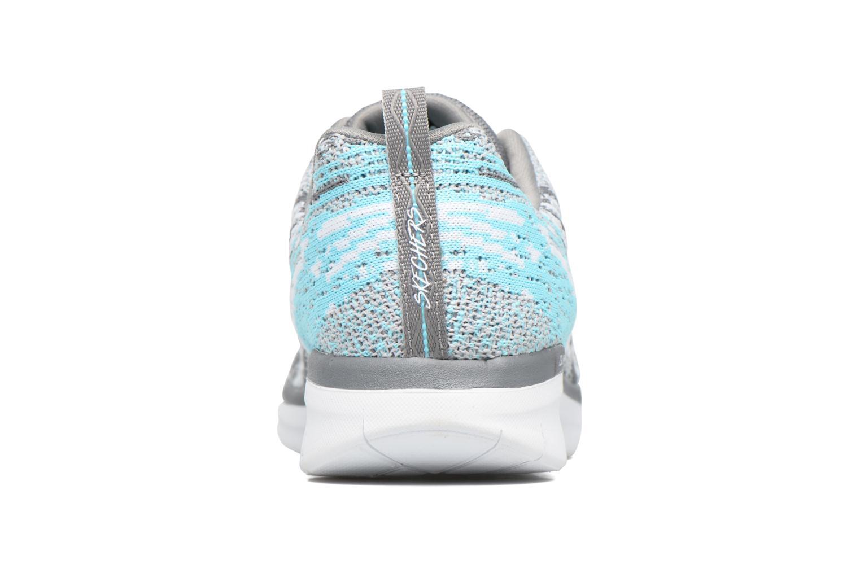 Zapatillas de deporte Skechers Synergy 2.0 High Spirits Gris vista lateral derecha
