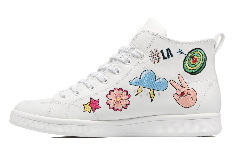 Sneakers Skechers Omne So L.A. Bianco immagine frontale