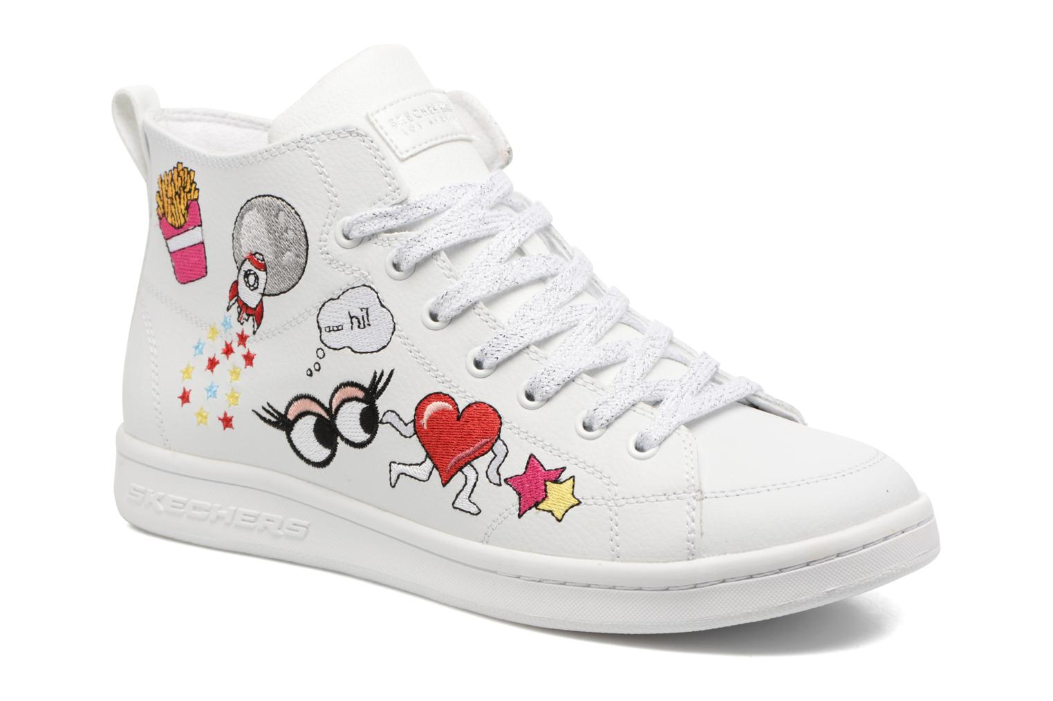 Trainers Skechers Omne So L.A. White detailed view/ Pair view