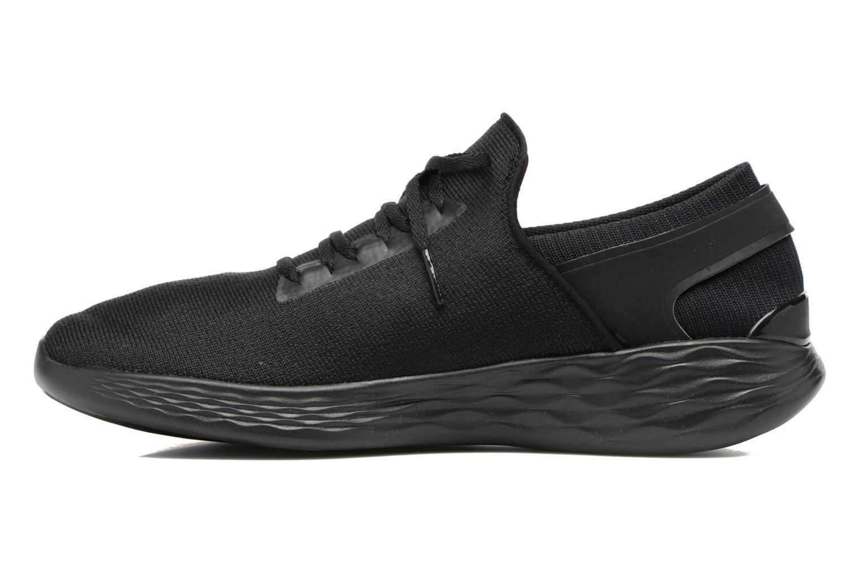 Sportschuhe Skechers You Inspire schwarz ansicht von vorne