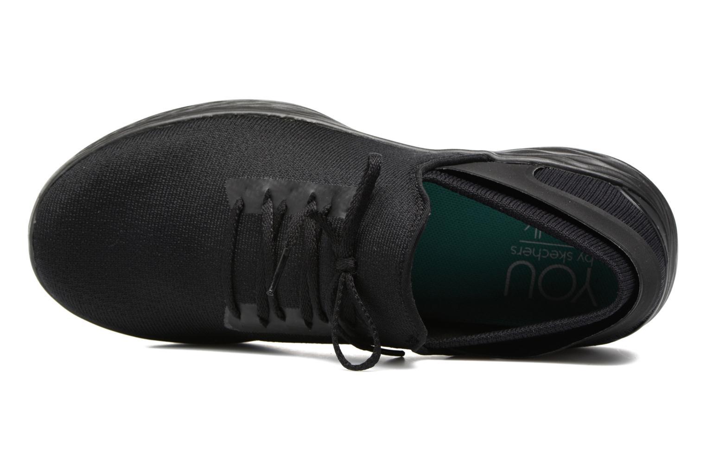 Scarpe sportive Skechers You Inspire Nero immagine sinistra